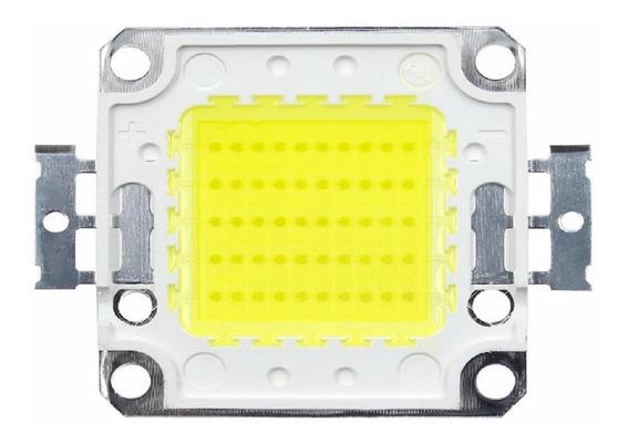 Kit 10 Chip Led 50w Para Reposição Refletor 50w Branco Frio