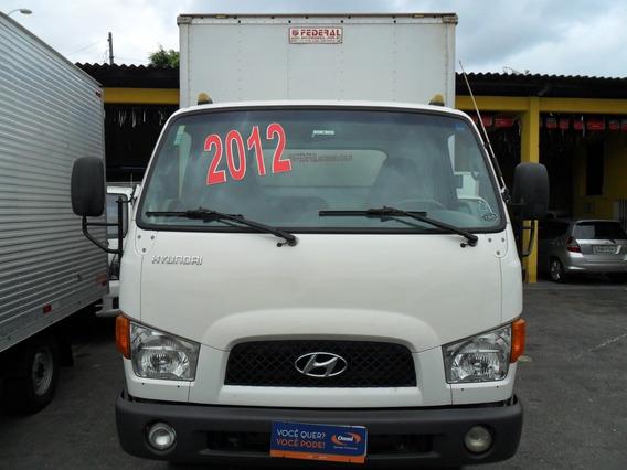Caminhão Hyundai Hd78 Ano 2012 Com Baú