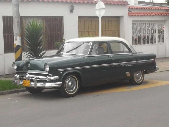Ford Custonline 1954 Totalmente Original Unico Dueño