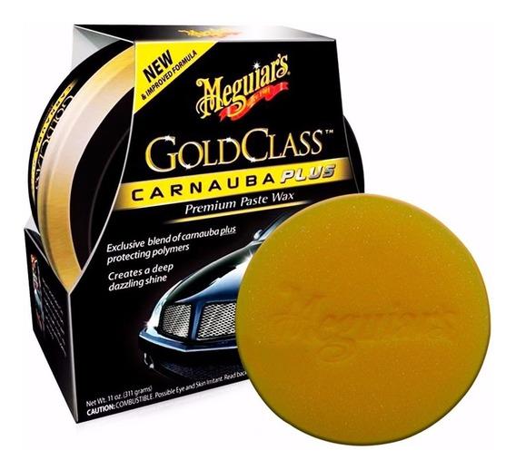 Cera Meguiars Carnaúba Plus Gold Class Em Pasta 311g