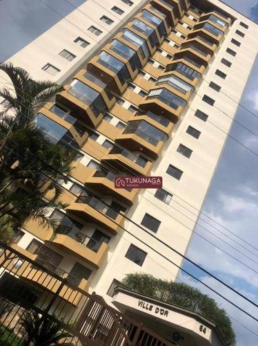 Apartamento Com 2 Dormitórios Para Alugar, 130 M² Por R$ 2.000,00/mês - Vila Galvão - Guarulhos/sp - Ap4936