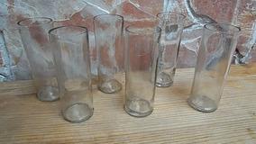 Jgo 12 Vasos Jaiboleros Reciclados De Botellas Tequila 30-30