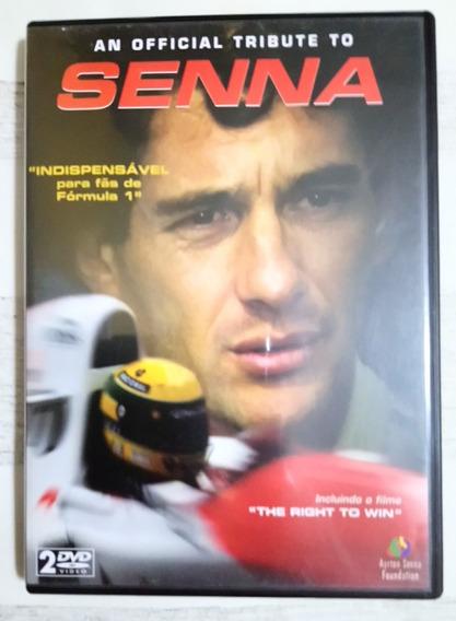 Dvd Ayrton Senna 2 Discos + Livreto Original - Colecionador