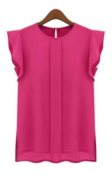 Blusa Dama Ropa Mujer Camiseta Elegante Femenina Casual