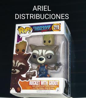 Funko Pop Rocket Whith Groot