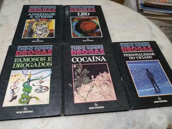 Tudo Sobre Drogas Lote Com 5 Livros Nova Cultural