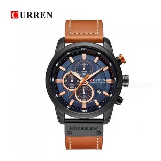 Relógio Masculino Curren 8291 Funcional Envio Imediato