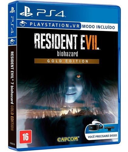 Resident Evil 7 Biohazard Gold Edition Ps4 Disco Fisico
