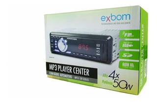 Auto Rádio Mp3 Player Center Automotivo Usb Sd Aux Fm Led