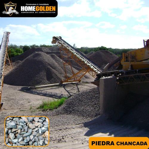 Piedra Chancada Arena Gruesa En Saco De 40 Kg Y M3