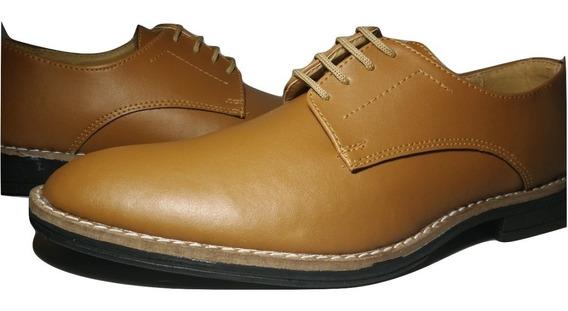 Zapato De Vestir Cuero Ecológico Sommet Art 231