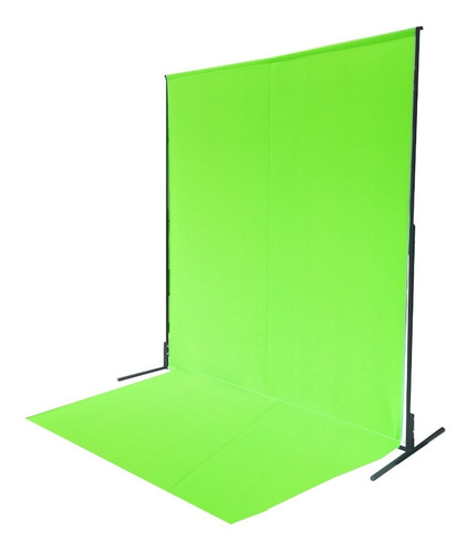 Fondo Infinito Croma Key Verde 2,40x2,00 Estructura Y Piso!!