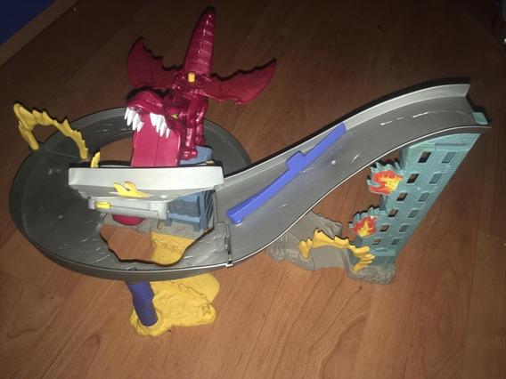 Pista Hotwheels Dragón