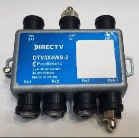Multiswicht Directv 4 Salidas Original Modelo Nuevo