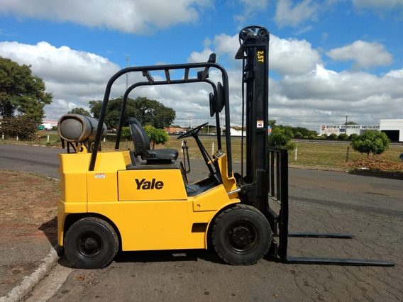Empilhadeira Yale 2,5t * * Deslocador Lateral * * 1990
