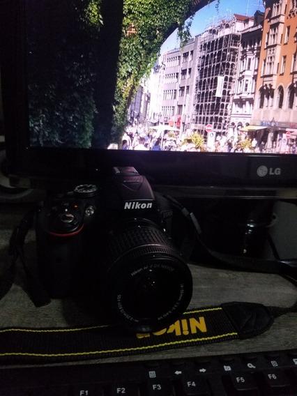 Câmera Nikon D5300 + 18-55mm + 32 Gbc/10