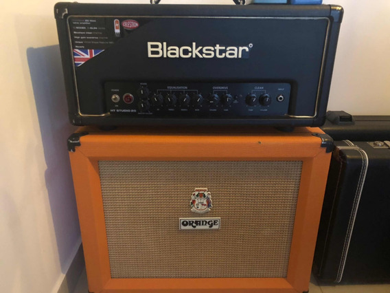 Head Blackstar Ht20 + Gabinete Orange Ppc112 (celestion V30)
