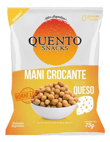 Mani Crocante Salado Sabor Queso Quento Snacks Horneados