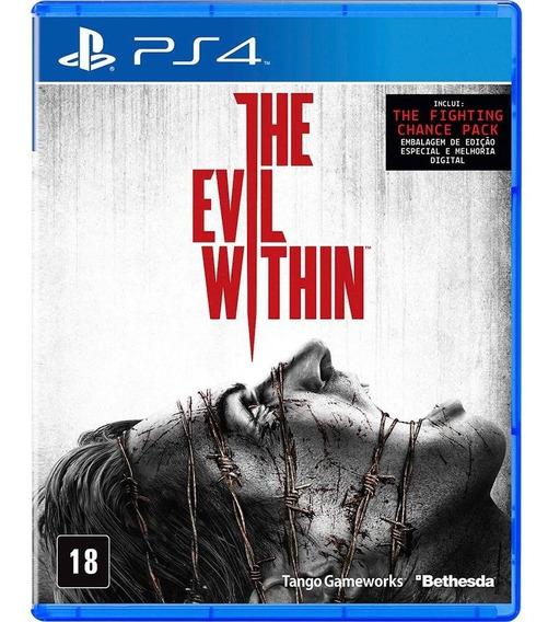 The Evil Within Psn Ps4 Code 1 Envio Na Hora