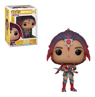 Funko Pop Valor 463 Fortnite Original Educando Full