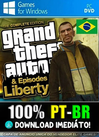 Gta 4 Pc Complete Edition - 100%ptbr - Mídia Digital