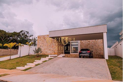 Casa Com 4 Dormitórios À Venda, 390 M² Por R$ 2.500.000,00 - Condomínio Saint Patrick - Sorocaba/sp - Ca0041