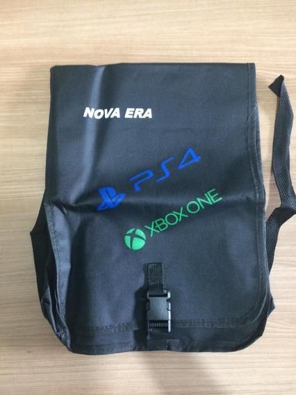 Mochila Para Transporte Console Ps4 Xbox One