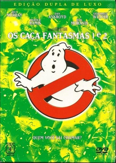 Dvd - Os Caça Fantasmas - 2 Filmes - Original Lacrado