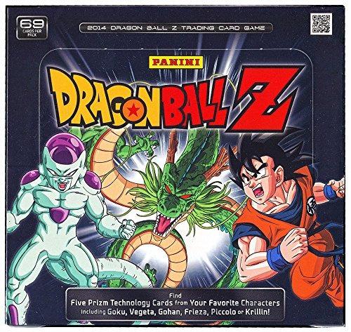 Dragon Ball Z Panini Trading Card Game Starter Box [10bara