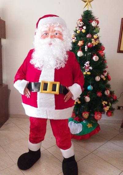 Disfraz Papa Noel Completo Calidad Superior Envió Provincias