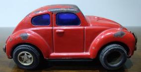 Fuscão De Lata Em Miniatura - Brinquedo Antigo
