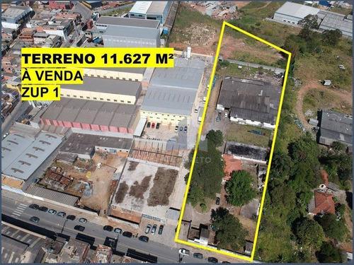 Terreno À Venda, 11627 M² Por R$ 6.000.000,00 - Jardim Anchieta - Ferraz De Vasconcelos/sp - Te0088