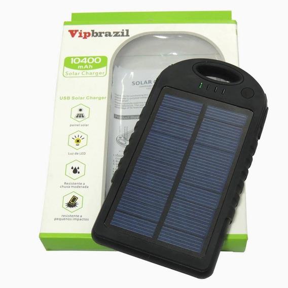 Carregador Portátil Mod. Pb Solar 10400mah Vipbrazil