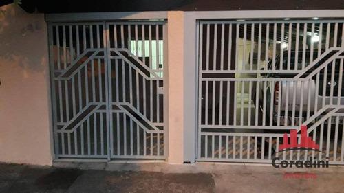 Imagem 1 de 11 de Casa Com 3 Dormitórios À Venda, 125 M² Por R$ 325.000 - Parque Residencial Francisco Lopes Iglesia - Nova Odessa/sp - Ca2485