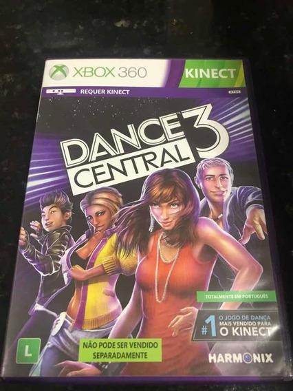 Jogo Xbox 360 Kinect Dance Central 3 Original Mídia Física
