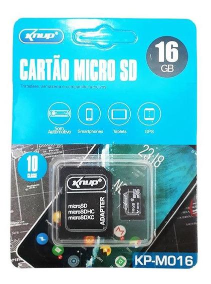 Cartão De Memória Micro Sd 16gb Alta Velocidade Rápido