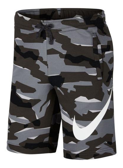 Pantaloneta Nike Camofrench Terry Camouflage