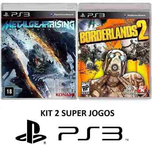 Borderlands2+metal Gear Rising Para Ps3