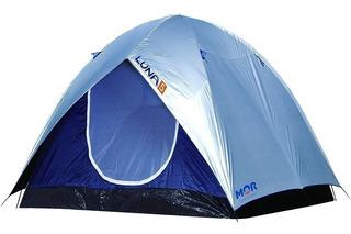 Barraca Impermeável Luna 5 Lugares Pessoas Camping Iglu Mor