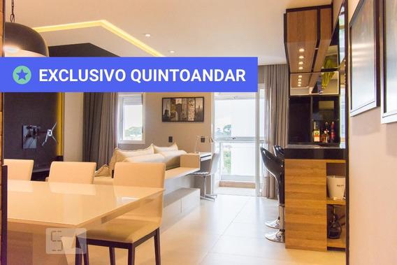 Apartamento No 3º Andar Mobiliado Com 2 Dormitórios E 1 Garagem - Id: 892951619 - 251619