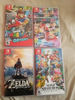 Cajas Para Juego Nintendo Switch