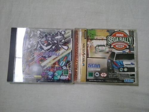 Jogo Sega Saturn True Pimball Sega Rallye Sega Saturn Cd