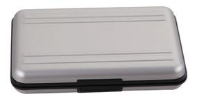 Case Porta Cartão Memória De Aluminio (8x Sd E 8x Micro Sd)