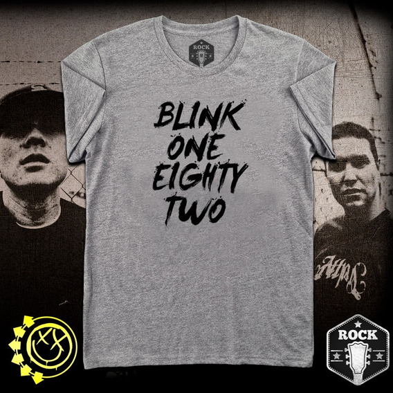 Remera Blink 182 - Blink One Eighty Two