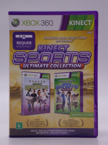 Kinect Sports Ultimate Collection Xbox 360 Original Física