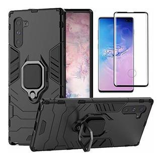 Funda Samsung Galaxy Note 10 Plus+protector De Pantalla