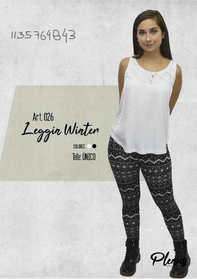 Leggins Lanilla