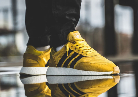 Tenis adidas I-5923 Yellow Black | Bd7612 adidas 100% Originals En Su Caja