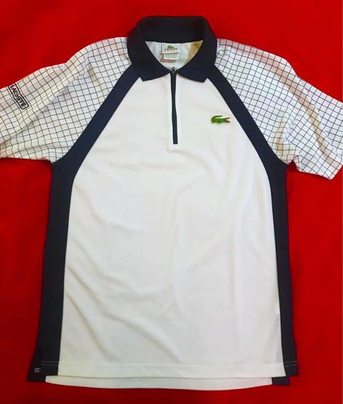 Playera Lacoste Sport Original Talla S Blanco/no Polo Tommy