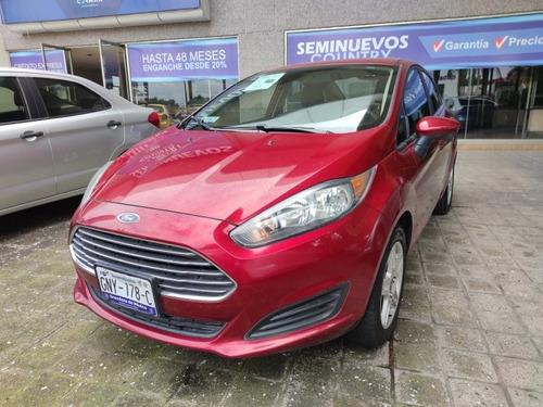 Imagen 1 de 11 de Ford Fiesta 2017 1.6 Se Sedan Mt Credito